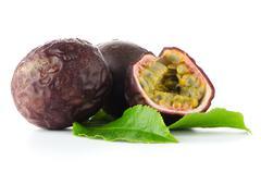 Fresh passion fruit Stock Photos