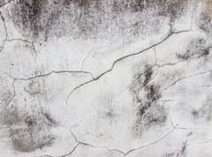 Cracks and fissures on wall,textured and backgrounds Stock Photos
