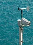 Weather meter Stock Photos