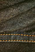 Denim fabric for the background. Stock Photos
