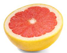Grapefruit isolated Stock Photos