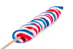 Stock Photo of lollipop candy on stick