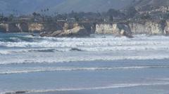 Pismo Beach California 2 Stock Footage