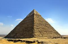 Stock Photo of giza pyramids, cairo, egypt