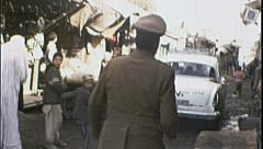 Street Scene KABUL AFGHANISTAN Pre War City 1980s Vintage Film Home Movie 7171 Stock Footage