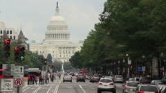 Washington D.C. Capitol Building 2 - stock footage