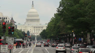 Stock Video Footage of Washington D.C. Capitol Building 2