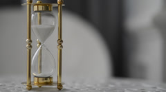 hourglass - stock footage