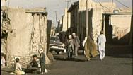 Stock Video Footage of Village Scene AFGHANISTAN Kabul Pre War 1980s Vintage Film Home Movie 7182