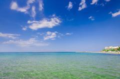 Stock Photo of sand of beach caribbean sea