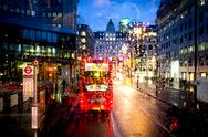 Stock Photo of london street view