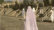 Stock Video Footage of Muslim Woman Burka AFGHANISTAN Kabul 1980s Vintage Film Home Movie 7185