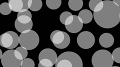 Loop Connect the Dots: transparent dots Stock Footage