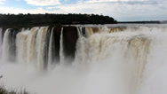 Stock Video Footage of Iguazu Falls_9998