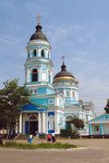 Stock Photo of holy ascension church, izyum ukraine