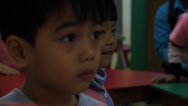 Stock Video Footage of Little Cambodian Orphan Boys