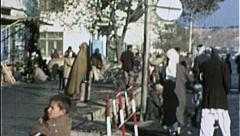 Main Street KABUL AFGHANISTAN Pre War City 1980s Vintage Film Home Movie 7198 Stock Footage