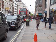 The strand, london Stock Photos