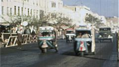 Downtown KABUL AFGHANISTAN Pre War City 1980s Vintage Film Home Movie 7189 Stock Footage