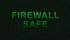 Firewall safe - HD Stock Footage