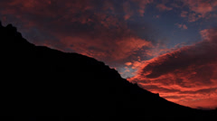 Timelapse sunrise in the mountains Demerdji.  Stock Footage