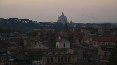 Thousands of starlings over St Peters 2 (perfect for end titles) Stock Footage