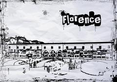 Ponte Vecchio - stock illustration