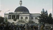 Stock Video Footage of Abdul Rahman Islam Mosque AFGHANISTAN Kabul 1980s Vintage Film Home Movie 7207