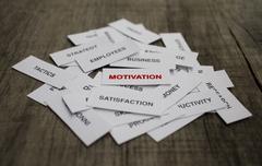 Motivaation käsite Kuvituskuvat