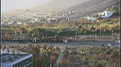 Soccer Stadium Killing Field Field KABUL War 1980s Vintage Film Home Movie  7211 Stock Footage