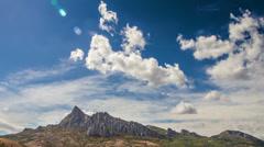 Karadag mountain time lapse Stock Footage