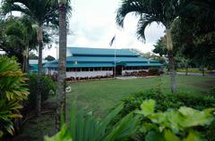 Stock Photo of cook islands prime minister building in avarua rarotonga