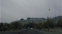 Royal Palace Tajberg AFGHANISTAN Kabul 1980s Vintage Film Home Movie 7218 Stock Footage