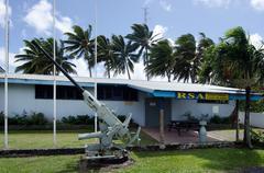 Rarotonga rsa club in rarotonga cook islands Stock Photos