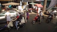 Ho Chi Minh City Vietnam Stock Footage