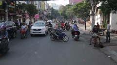 Ho Chi Minh City in Vietnam Stock Footage
