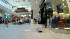 Footage of Aventura Mall Stock Footage
