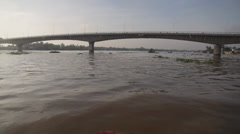 Vietnamese River - stock footage