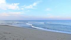 Cape Cod Beach Sunset Time-Lapse (4K) Stock Footage