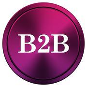 B2b icon Stock Illustration