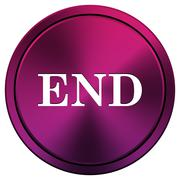 Stock Illustration of end icon