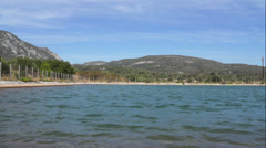 Artificial Lake Stock Footage