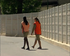 The Russian women's prison. Correctional Facility Closed Stock Footage