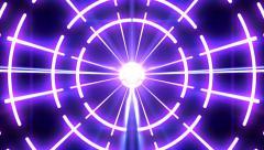 Box-shaped rotating lights 25 - stock footage