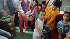 Vietnamese Children Stock Footage