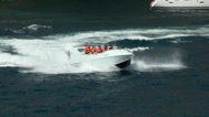 Stock Video Footage of Speedboat water sports in Gran Canaria