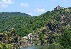 Stock Photo of ambialet (tarn, france)