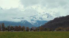 Switzerland Mountain 1 Stock Footage