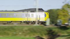 Intercity Dutch Railways Stock Footage