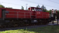 DB freight train Stock Footage